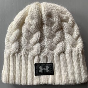 Under Armour Cable Knot Fleece Lined Hat OSFM